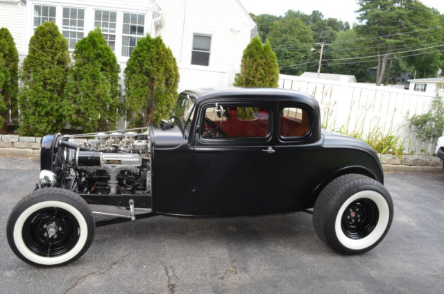 Chopped top steel 1932 ford 3 window deuce coupe for sale autos post