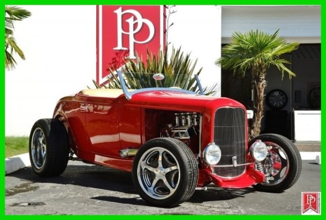 1932 Ford Hi-Boy Roadster Re-Creation