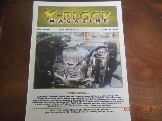 1932 Ford Hiboy Roadster Blown Fuel Injected 312 Y-Block for