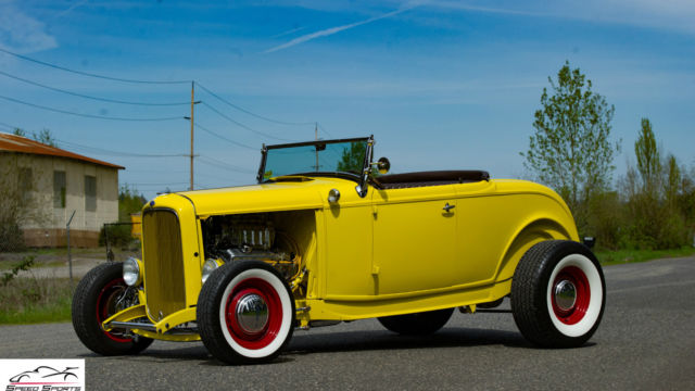 1932 ford highboy roadster blown sbc show winner hotrod. Black Bedroom Furniture Sets. Home Design Ideas