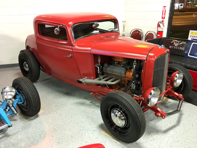 1932 Ford Model A THREE WINDOW COUPE