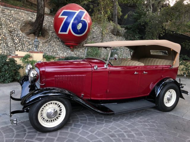1932 Ford Other Custom Leather