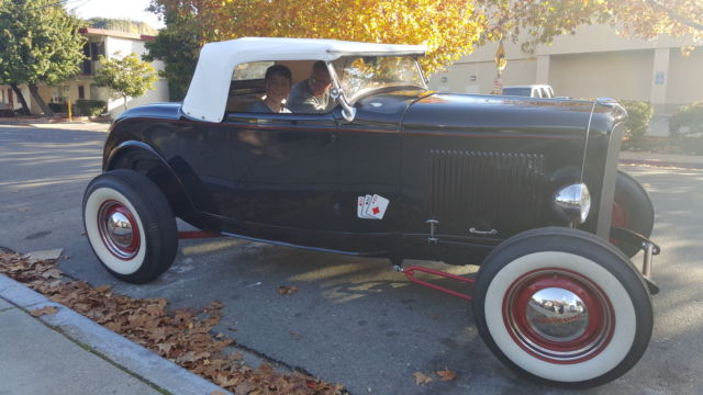 1932 Ford Roadster V8 Dueces Hot Rod Highboy Convertible Coupe Model A