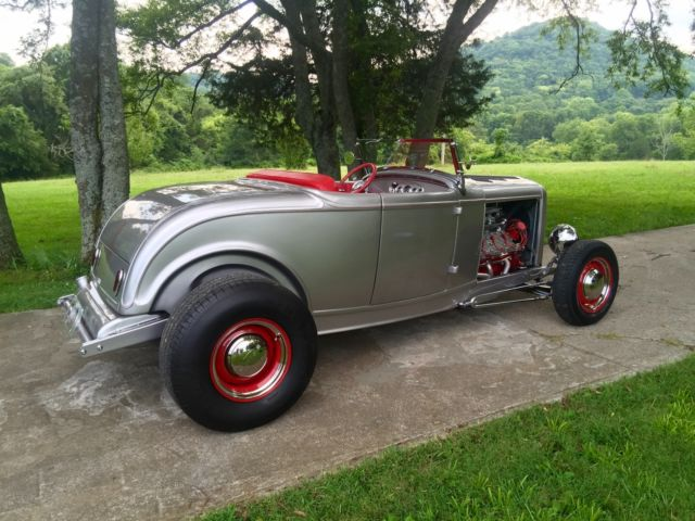 1932 Ford Steel Roadster Flathead V8 With Fuel Injection High end Show Car & 1932 Ford Steel Roadster Flathead V8 With Fuel Injection High end ... markmcfarlin.com