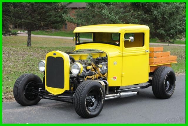 1932 Ford Other Pickups 32 Ford Street Rod Steel Body 350 Dual Quads