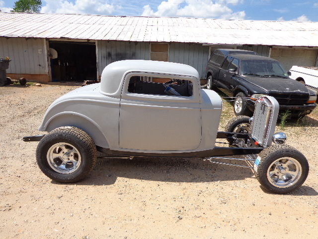 1932 ford three window coupe project new glass body on