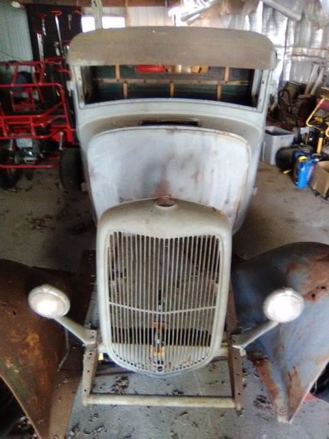 1933 Ford Hot Rod Project
