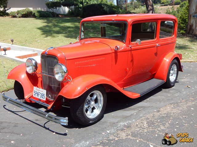 "1932 Ford 2dr Sedan ""Tudor"" All Steel Resto Rod"