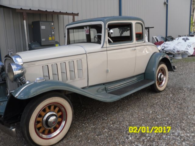 1932 Oldsmobile 5 window Coupe for sale photos technical