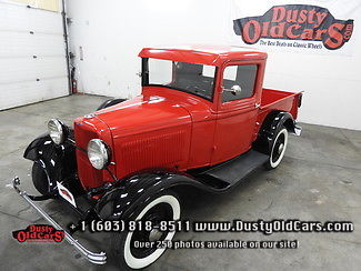 1932 Ford B Pickup Runs Drives Body Inter Excel Restored Show Ready