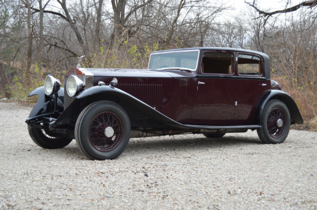 1932 Rolls-Royce Phantom PII Continental