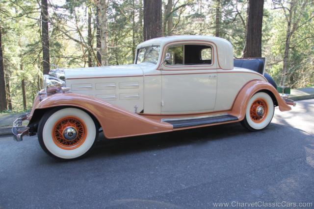 1933 Cadillac 355C Rumble Seat Coupe. 1 of 4 known. See VIDEO