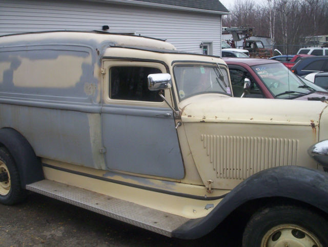 1933 Dodge Humpback Panel Truck Street Rod Patina Hot Rd