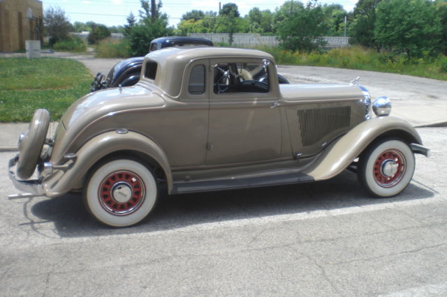 1933 Dodge Rumble Seat Coupe Matching Numbers Survivor