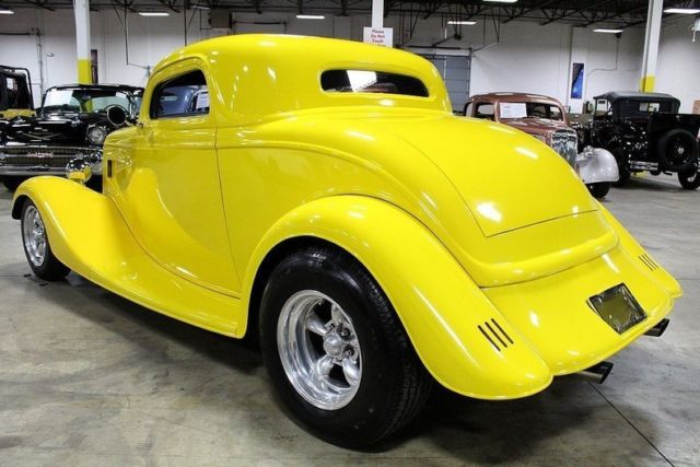 1933 Yellow Ford Other Coupe with Gray interior