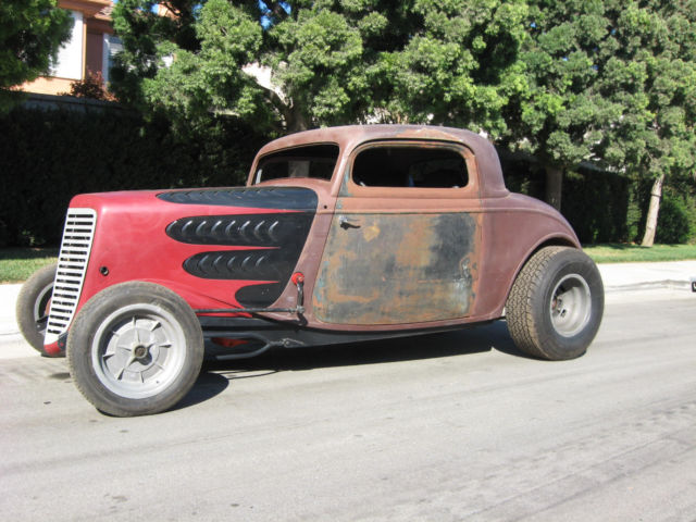 1933 Ford Coupe 3 Window