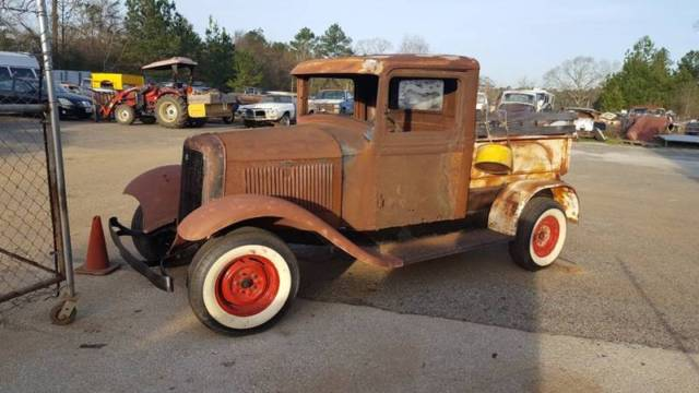 1933 Ford Other Pickups bed wood rails