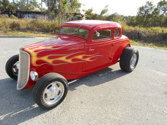 1933 Ford 5 Window Coupe Real Steel Body