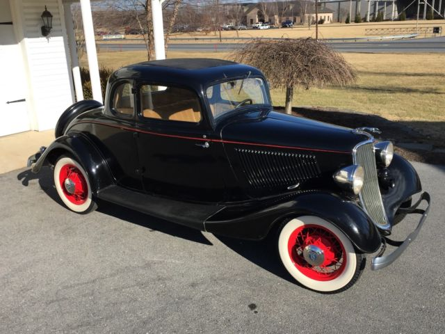 1933 Ford 5 Window Coupe Model 18 40 1932 1933 1934