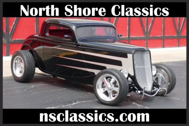 1933 Ford Coupe - LS1 V8 - PAUL ATKINS CUSTOM INTERIOR- SEE VIDEO