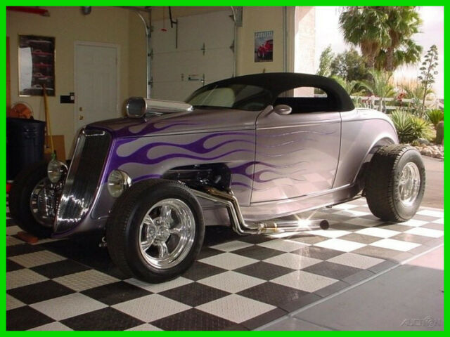 1933 Ford Custom Street Rod with Removable Soft Chop Top