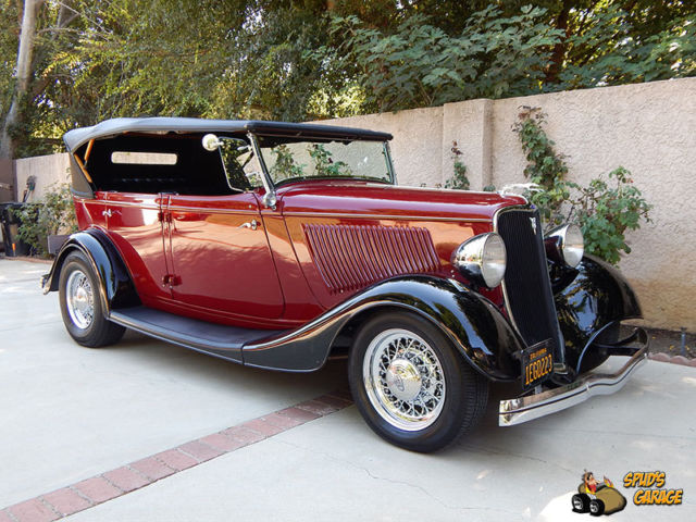 1933 Ford Phaeton Grand Touring Henry Steel Resto-Rod