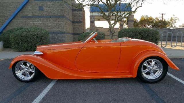 1933 Ford Hot Rod Roadster  Titled as a 1933 Original Build Cost Over $100k