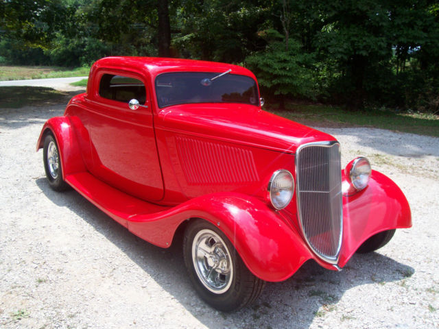 Red 34 ford coupe sale autos post for Windows 4 sale