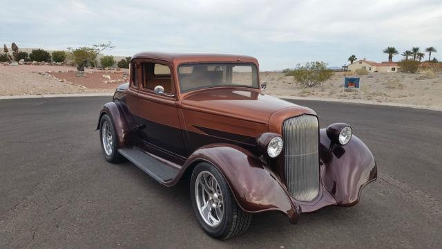 1933 Hot Rod Hemi Coupe Dodge 1932 Ford 5 Window