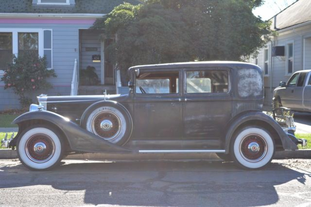 1933 Packard Standard Eight Club Sedan 1001 Club Sedan