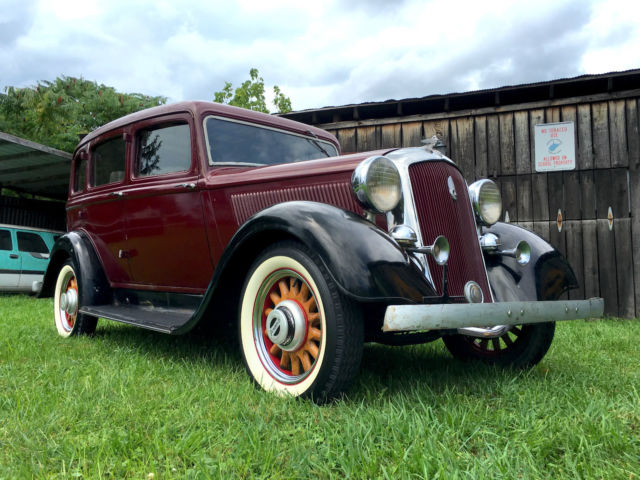 1933 Plymouth Other
