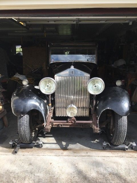 1933 Rolls-Royce 20/25 hp by Park Ward with rare suicide doors