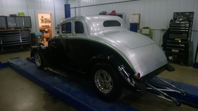 1933 Willys Coupe Gray Leather by Ogden