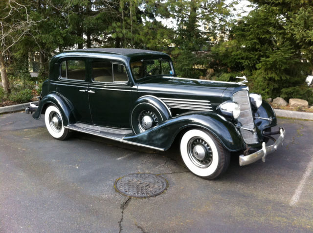 1934 Buick 60 Series Club Sedan For Sale Photos