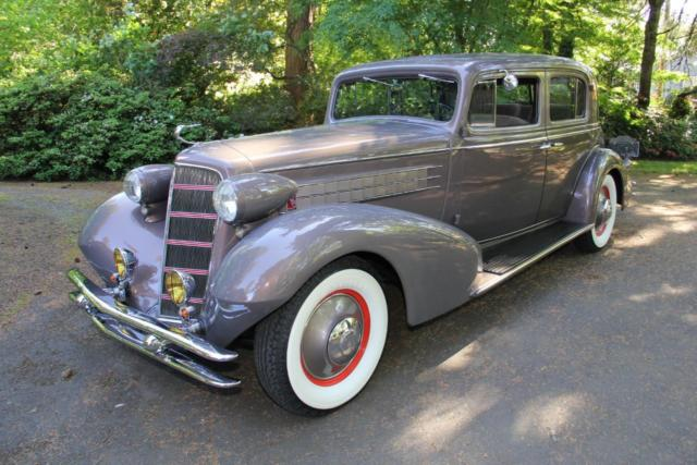 1934 Cadillac 355D Town Sedan. National 1st Place Winner. SEE VIDEO