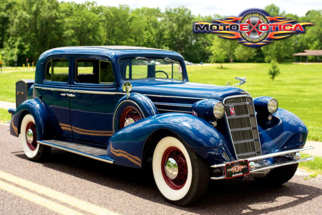 "Connu 1934 Cadillac Town Sedan Series 355D,Fisher bodied 136"", Rare  MU23"