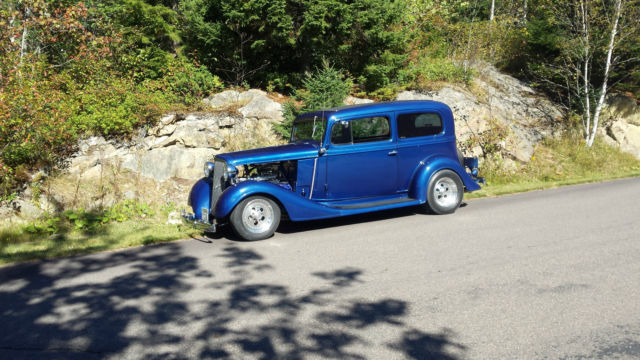 1934 Chevrolet Master Sedan Old School for sale: photos, technical