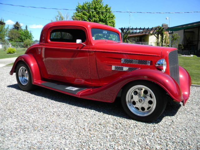 1934 chevrolet three window coupe street rod for sale for 1934 chevy 5 window coupe