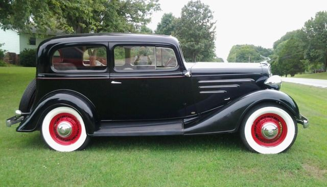 1934 Chevy 2 door Sedan Master for sale: photos, technical