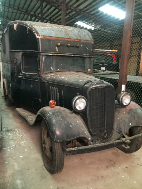 1934 Chevy box/panel truck 1 and 3/4 ton for sale: photos