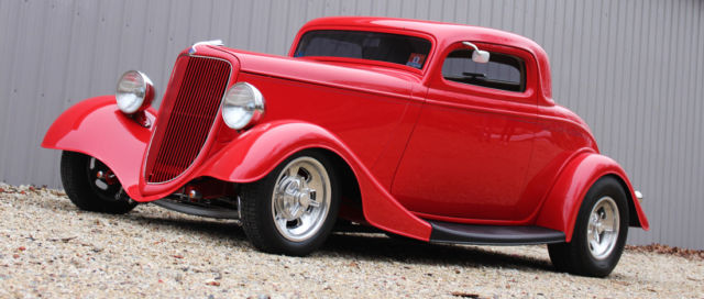 1934 Ford Coupe, 3 Window Coupe, 3 Window, Hot Rod, Outlaw Body / Chassis
