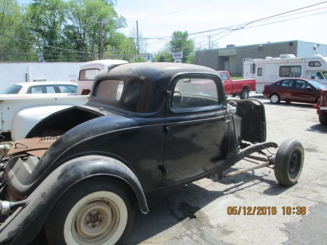 1934 ford 3 window hot rod rat rod barn find project other for 1934 ford 3 window coupe project for sale