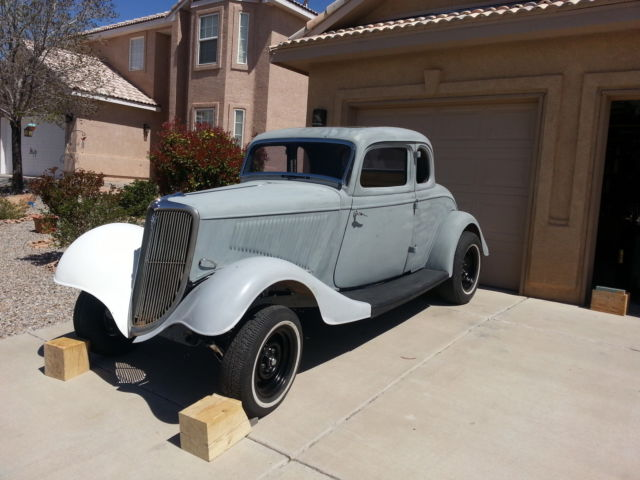 1934 Ford 5 Window Coupe Original Steel Body For Sale