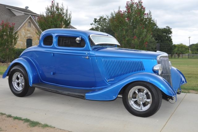 1934 ford 5 window steel body street rod coupe for sale for 1934 ford 5 window coupe street rod