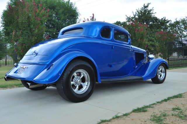 1934 ford 5 window steel body street rod coupe for sale for 1934 ford 3 window coupe steel body