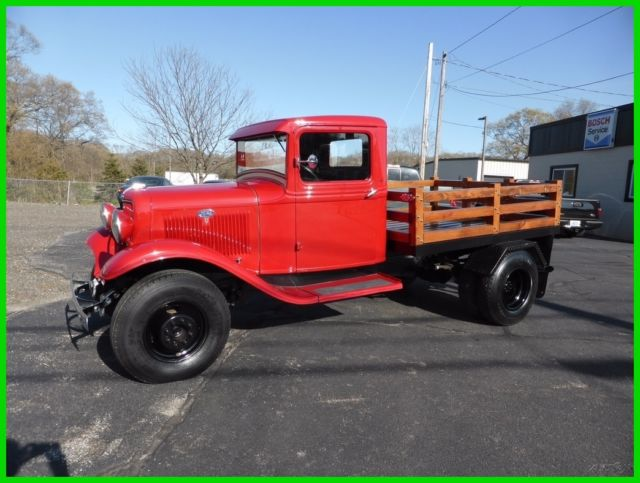 1934 ford bb 1 ton truck for sale photos technical specifications description. Black Bedroom Furniture Sets. Home Design Ideas