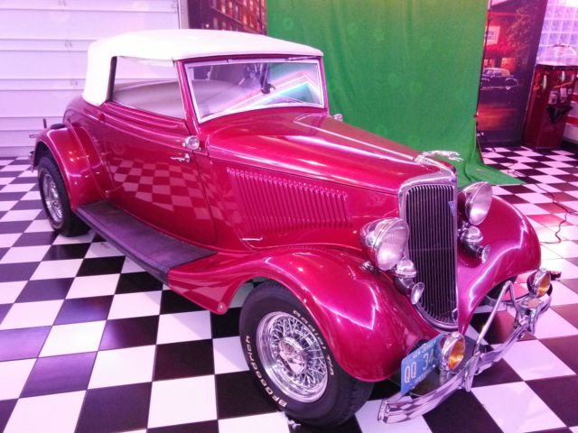 1934 Ford Coupe Hot Rod Rumble Seat Complete Restoration