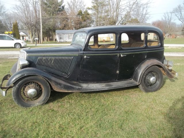 1934 ford fordor sedan for sale photos technical specifications description. Black Bedroom Furniture Sets. Home Design Ideas