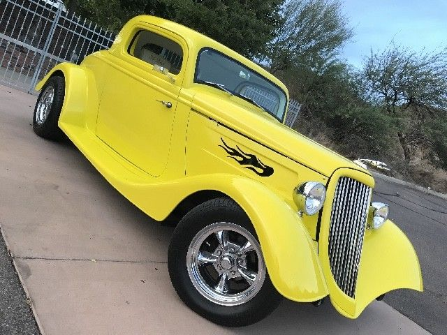 1934 Ford Model 40 3 Window Coupe