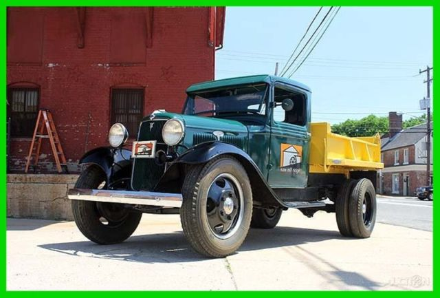 1934 Ford Other 1934 Ford Model BB Truck, Working Dump Body, V8